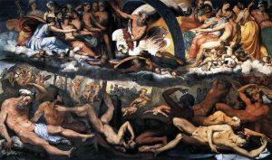 Giove e i Titani - atto secondo
